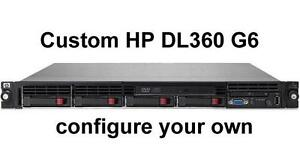 HP DL360 G6 1U Server Custom Configuration