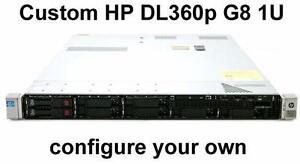 HP DL360p G8 1U Server Custom Configuration