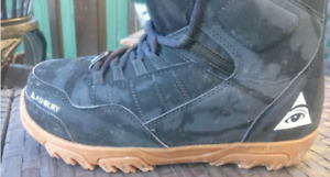 ThirtyTwo Prion Ashbury (Mens black size 10.5) Snowboard boots