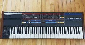 Roland Juno 106 Vintage Synth