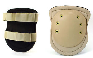 GALLS GEAR MILITARY TACTICAL COMBAT ASSAULT KNEE PADS DESERT TAN NEW