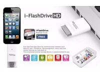 64 GB i-Flash Drive HD OTG Memory Stick USB Device iPhone iPad iPod Touch