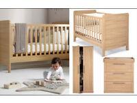Mamas and Papas - Rialto Cot bed nursery furniture set