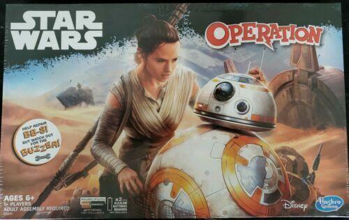 New Sealed Operation Star Wars Edition Board Game Dmg Pkg