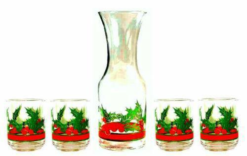 Lenox Christmas Drinking Glasses
