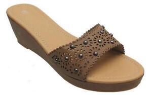 Ladies heeled slippers ebay - Ladies bedroom slippers with heel ...