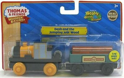THOMAS THE TANK & FRIENDS-DASH AND THE JUMPING JOBI WOOD 2011*NIB*YELLOW LABEL**