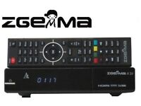 Zgemma H2s with 12 months gift plug&play openbox V9s v8s sKYBox f5s