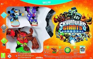 New Skylanders Giants Starter Pack - Nintendo Wii U