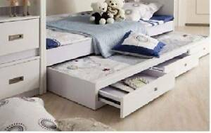 Double Bunk Bed with Trundle - Near New East Maitland Maitland Area Preview