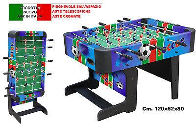 Futbolín Juego Sport Fútbol Sala Futbolín Barra Plegable Ahorro de Espacio 2158