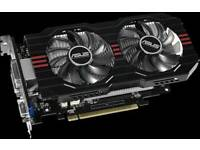 Gaming graphics card video card Asus GTX750 ti 2GB