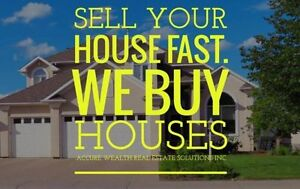 WE ARE BUYING HOUSES IN CALGARY AND EDMONTON
