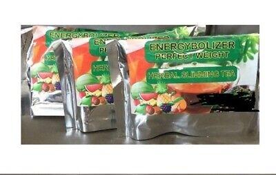 Energybolizer Perfect Weight Herbal Slimming Tea,  3 bags, Orange Flavor