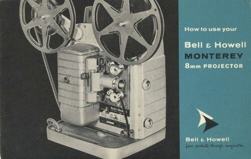 Bell & Howell 253 AR Monterey Instruction Manual