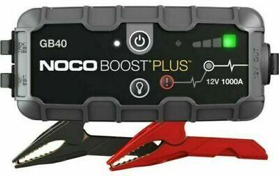 NOCO GB40 Genius Boost Sport 1000 Amp 12V UltraSafe Lithium Jump Starter Device