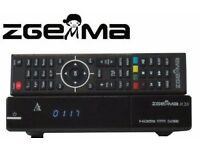 ORIGINAL ZGEMMA H.2S DUAL CORE SATELLITE RECEIVER DVB-S2 TUNER FREE TO AIR SATELLITE RECEVER ZGEMMA