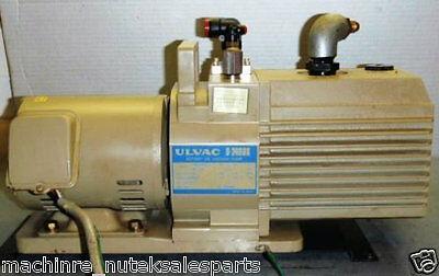 Ulvac Rotary Oil Vacuum Pump D-240dkw Hitachi Motor Efoup K D240dk