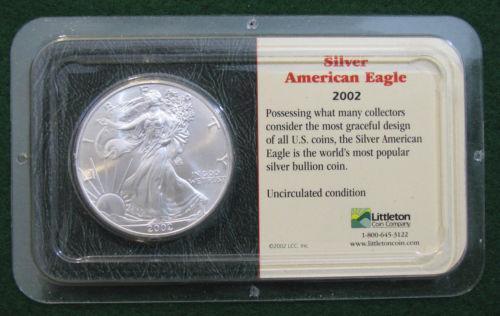 2002 Silver American Eagle Littleton Ebay