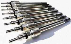 8 GLOW PLUGS 2008-2010 FORD 6.4L V8 POWERSTROKE F250 F350 F450 F