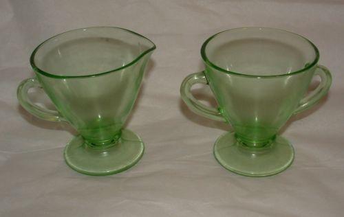 Vaseline Glass Bowl Ebay