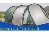 Gelert strarus tunnel 3 tent, 3:berth