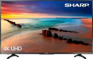 "50"" Sharp 4K LED Roku Smart TV"