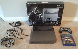Limited Edition Batman PS4 Console