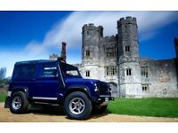 Land Rover Defender 90 TD5 7 seater or 6 seater with Cubby-box