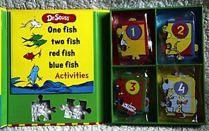 NEW - Dr. Seuss Puzzle Story: One Fish Two Fish Red Fish Blue Fi Kingston Kingston Area image 3