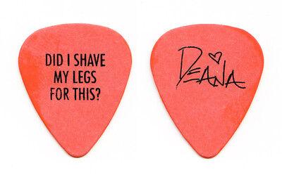 Deana Carter Orange Signature Guitar Pick 1996 Tour