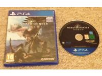 'Monster Hunter World' - Playstation 4/PS4 - 'As New' condition