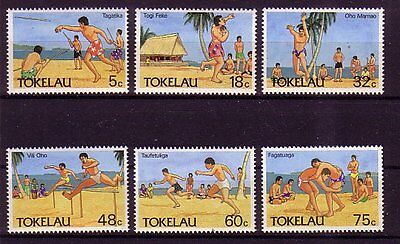 Tokelau-Inseln Michelnummer 142 - 147  postfrisch