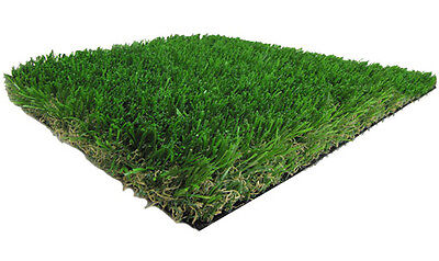 Diamond Synthetic Landscape Fake Grass Artificial Pet Turf Lawn 5' x 10'