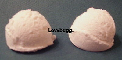 "Lovvbugg 2 Scoops Ice Cream for 15"" - 18"" American Girl Doll Food Accessory"