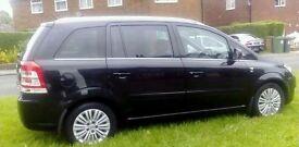 2012(61) Vauxhall Zafira Ecoflex Excite 1.7 CDTI 55k miles 7 Seats FSH & Long MOT