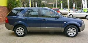 2007 Ford Territory SY TX Blue 4 Speed Automatic Wagon Upper Ferntree Gully Knox Area Preview