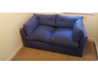 sofa bed blue