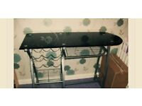 Breakfast bar with wine rack.. PICK UP ONLY !!!