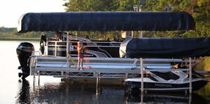 Pontoon Boat Lift Show Pricing!