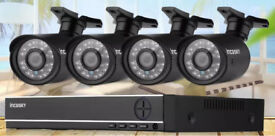 Complete 4 camera HD CCTV system - special offer