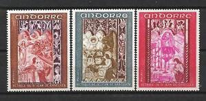 Andorre-Francais-1969-Yvert-n-198-a-200-neuf-1er-choix