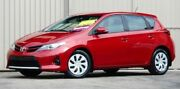 2013 Toyota Corolla ZRE182R Ascent Red Mica 7 Speed CVT Auto Sequential Hatchback Lismore Lismore Area Preview