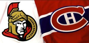 Canadiens vs Ottawa at the Bell Centre Feb4th