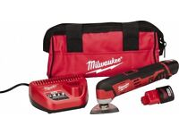 Milwaukee® M12™ Cordless LITHIUM-ION Multi-Tool Kit brand new with accessories and carry bag