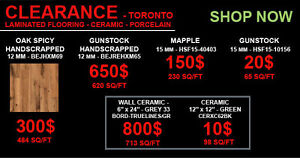 CLEARANCE SALE - FAUCETS, SHOWERS,TUBS, HARDWOOD and more