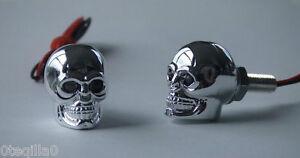 tete-de-mort-moto-crane-yeux-rouge-parts-chopper-skull-muffler-bobber-LED-red