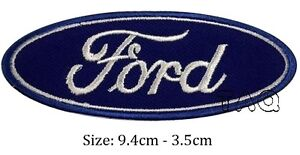 Ford logo racing biker car embroidered iron on patch badge motor sports # M02