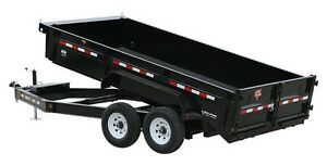 "PJ 83"" Low Pro Dump (DL) Heavy Duty 14K Dump - Northern Trailers"