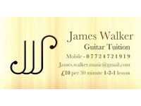 Guitar lessons in alvaston/derby area, just £10 for 1/2 hour or £15 for 1 hour